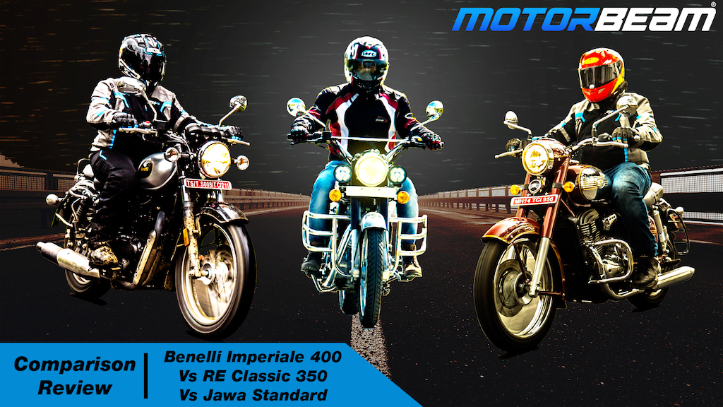 Jawa vs Classic 350 vs Imperiale 400 Hindi