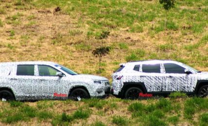 Jeep Compass 7-Seater Spied