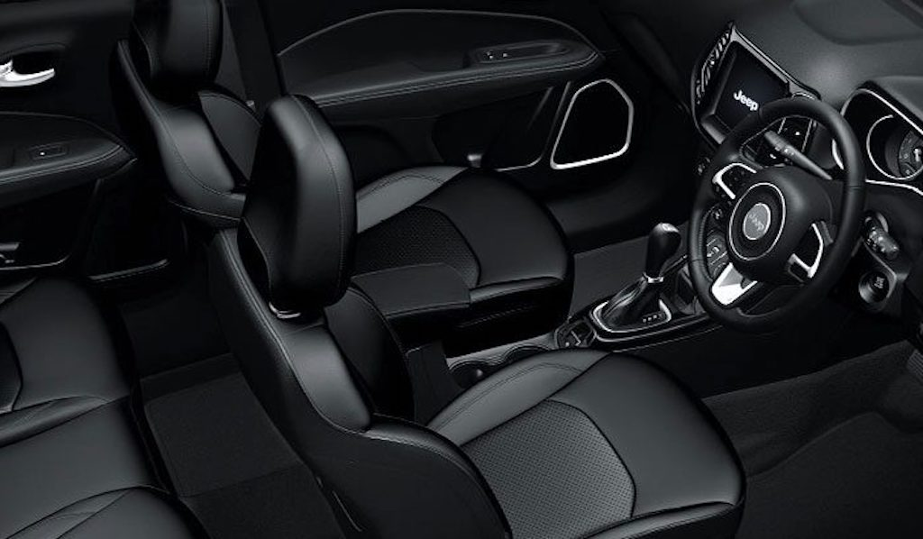 Jeep Compass Black Pack Interiors