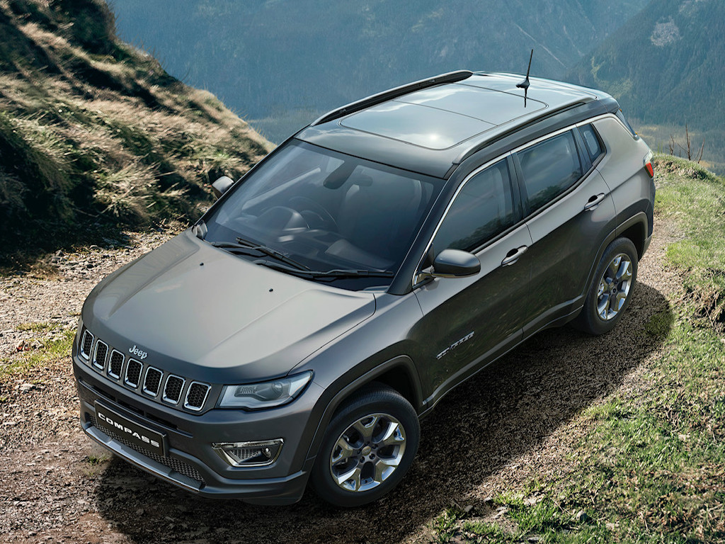 Jeep Compass Diesel Automatic Top View