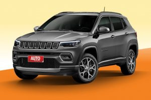 Jeep Compass Facelift Front