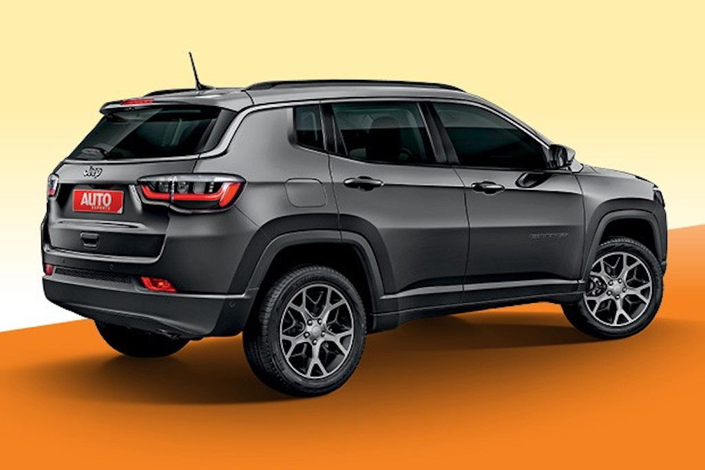 Jeep Compass Facelift Rear