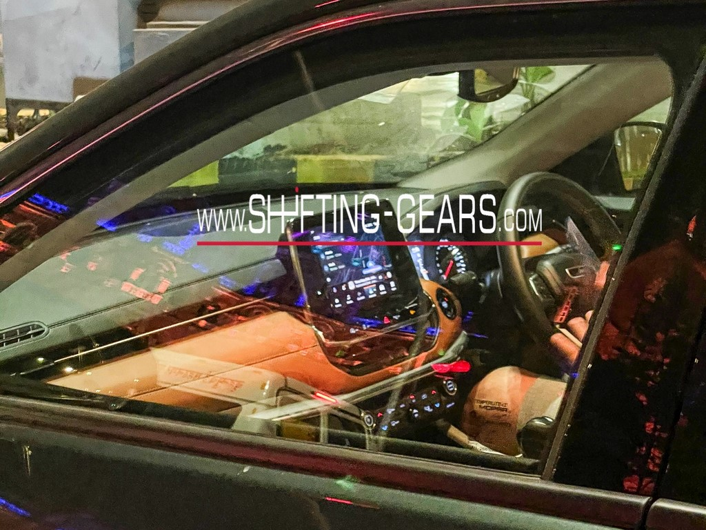 Jeep Compass Facelift Spotted Interior