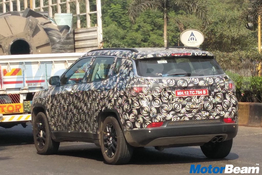 Jeep Compass India Spyshot Rear