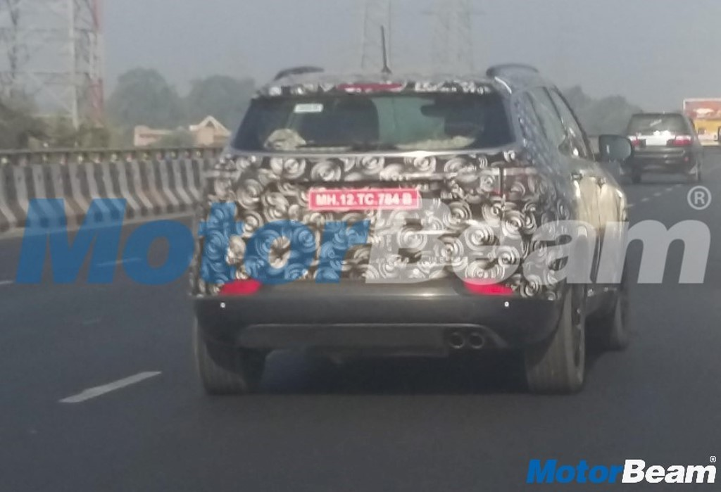 Jeep Compass India Testing