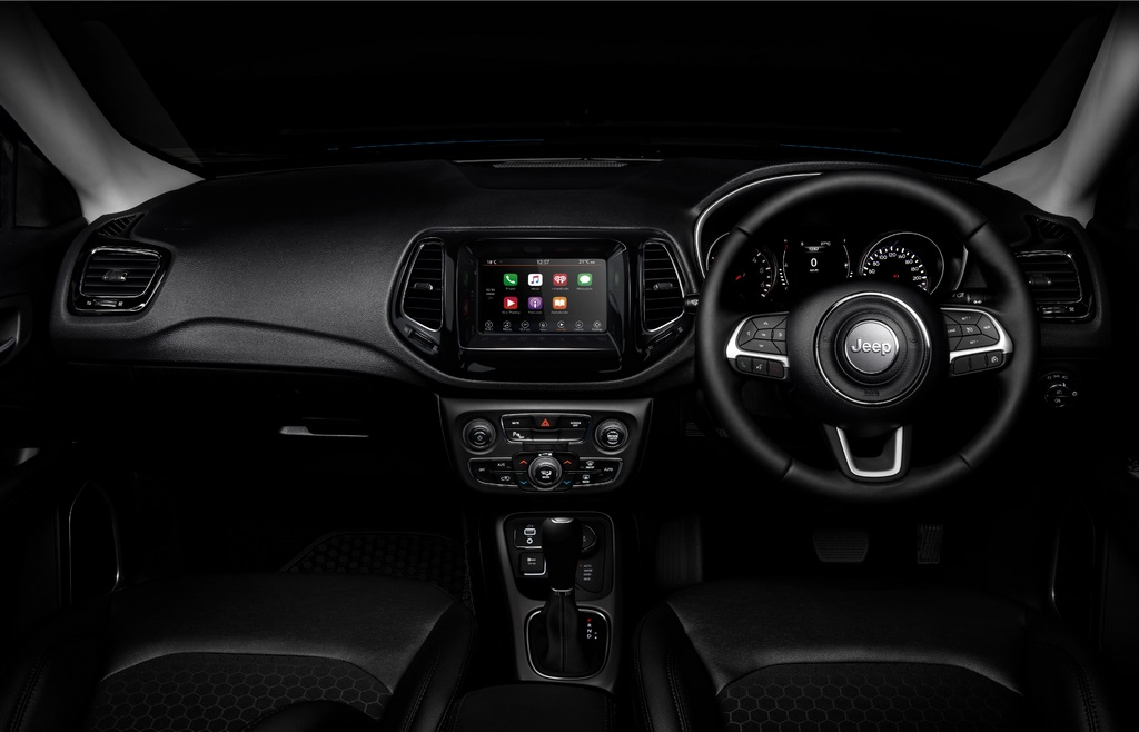 Jeep Compass Night Eagle Dashboard