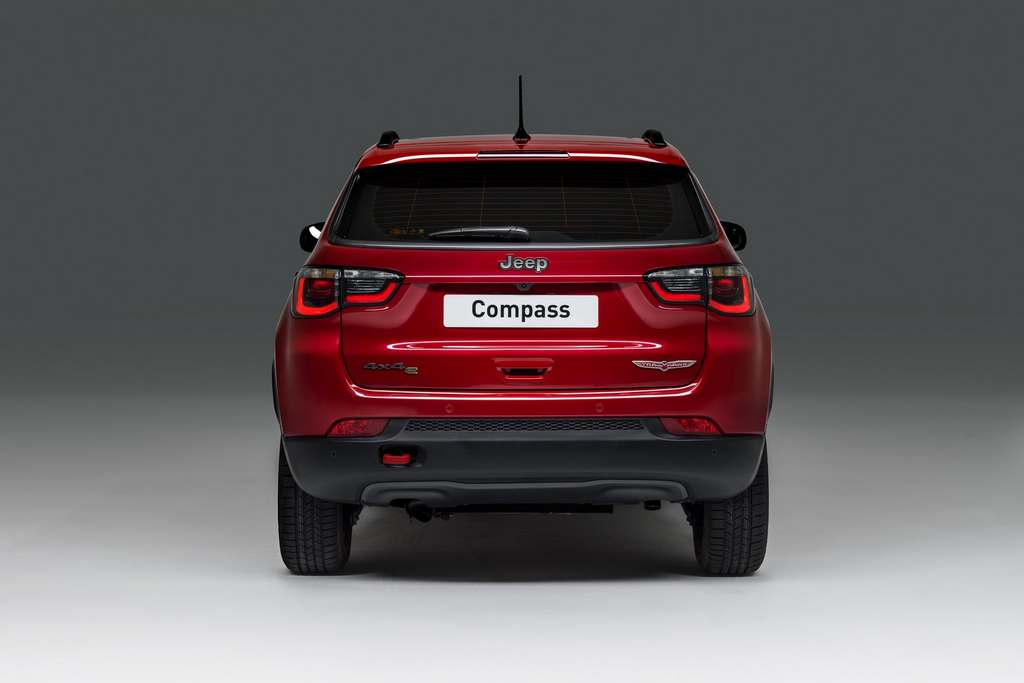 Jeep Compass PHEV Rear