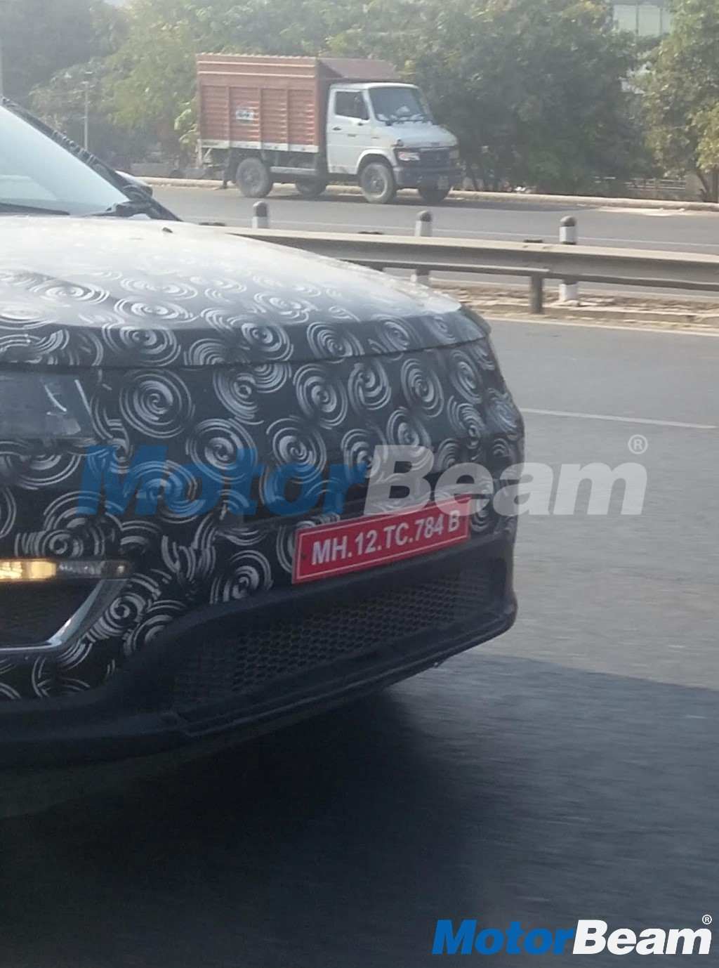 Jeep Compass Spied In India