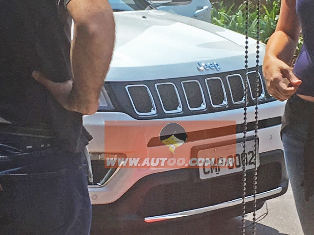 Jeep Compass Spotted