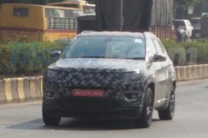 Jeep Compass India Spyshot