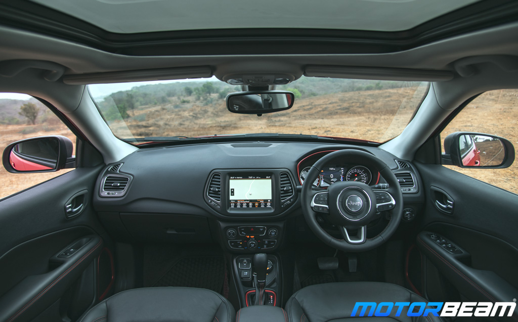 Jeep Compass Trailhawk Interior