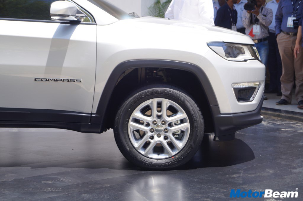 Jeep Compass Tyres