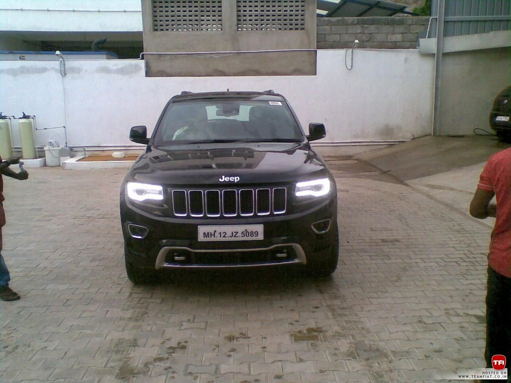 Jeep Grand Cherokee Spied India