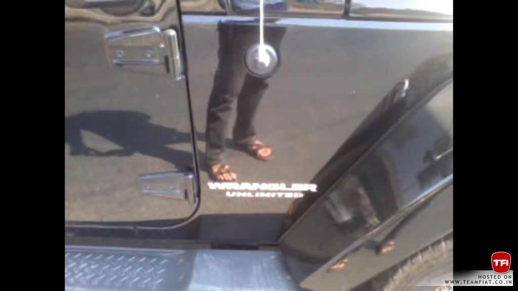 Jeep India Wrangler Unlimited