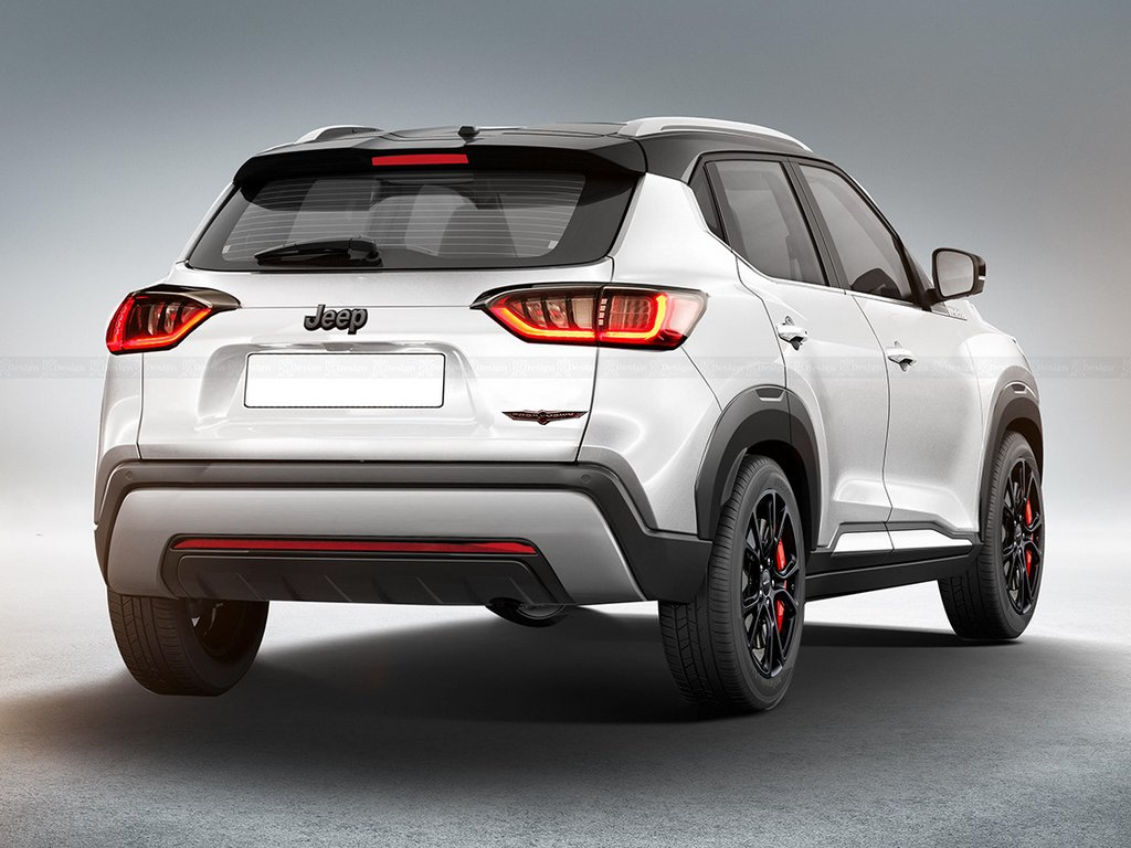 Jeep Junior Compact SUV Render