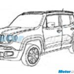Jeep Renegade Patent India