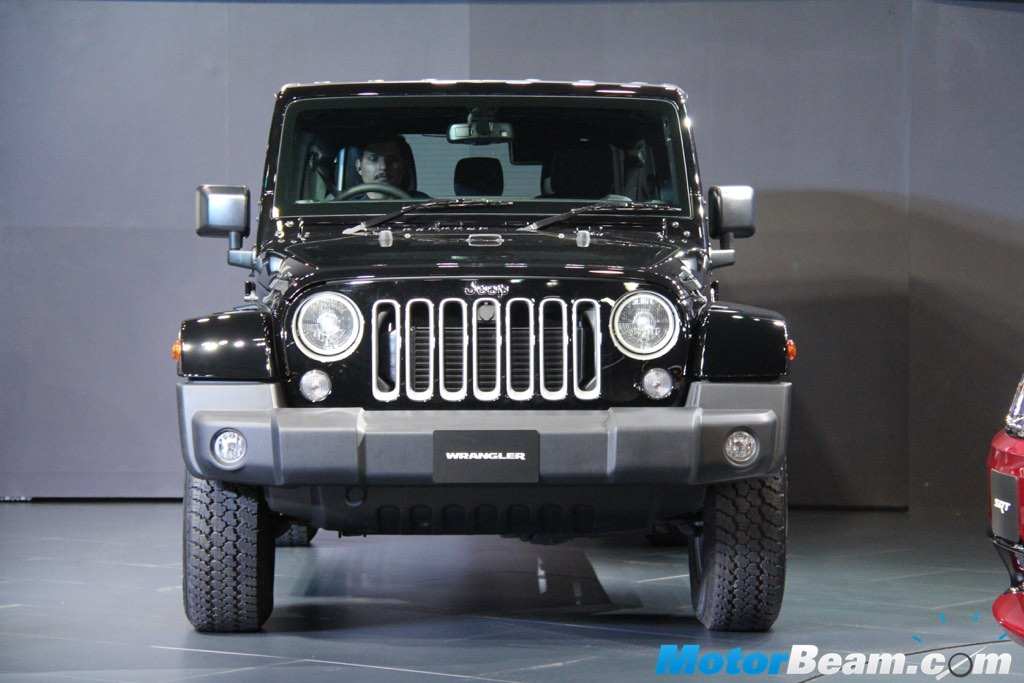 Jeep Wrangler India Showcase