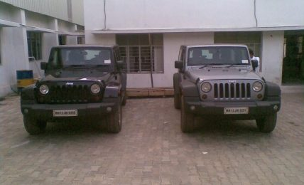 Jeep Wrangler Spied India
