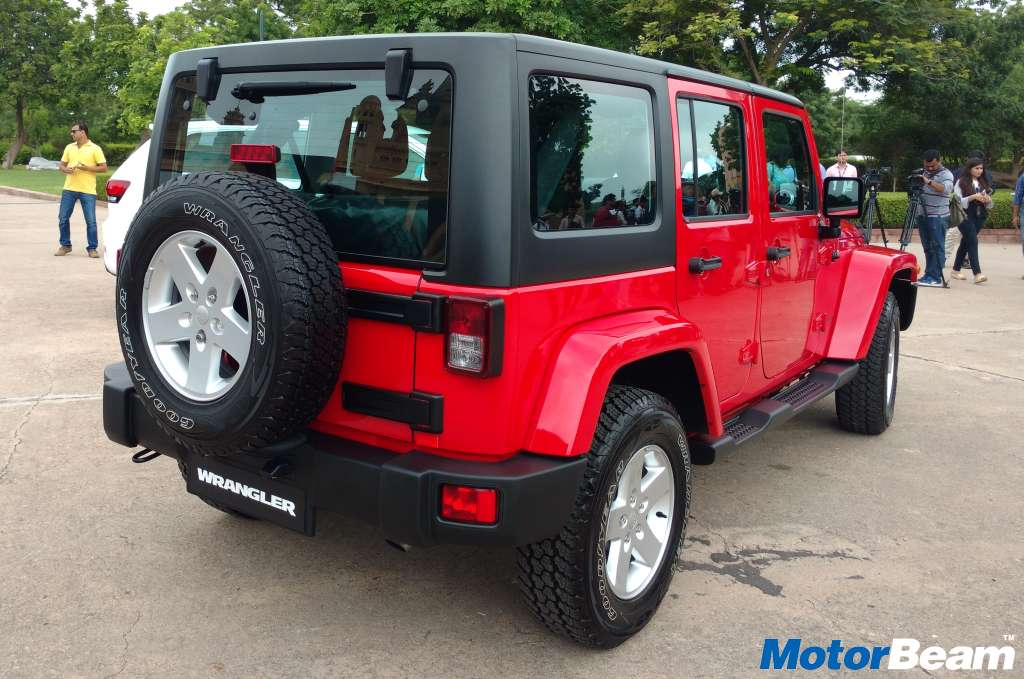Jeep Wrangler Unlimited Launched