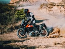 KTM 250 Adventure Off-Roading
