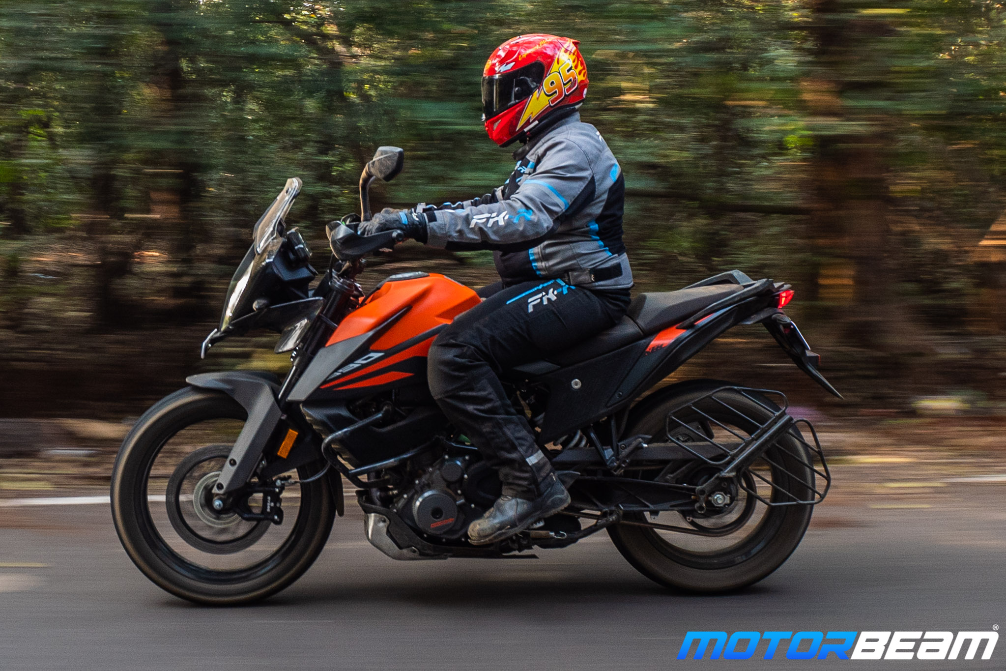 KTM 390 Adventure Off-Road Motorcycle