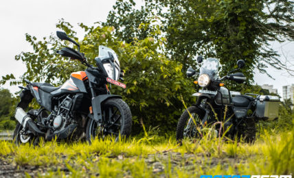 KTM 390 Adventure vs Royal Enfield Himalayan Comparison Review 11