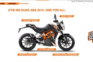 KTM 390 Duke Coming Soon
