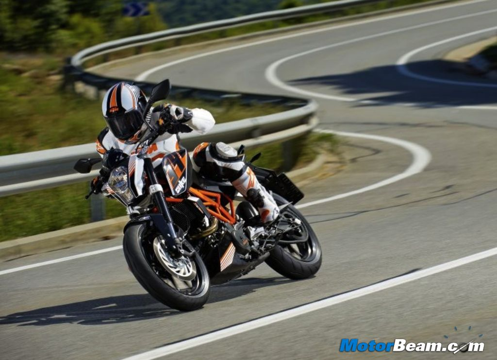 KTM 390 Duke Motorcycle