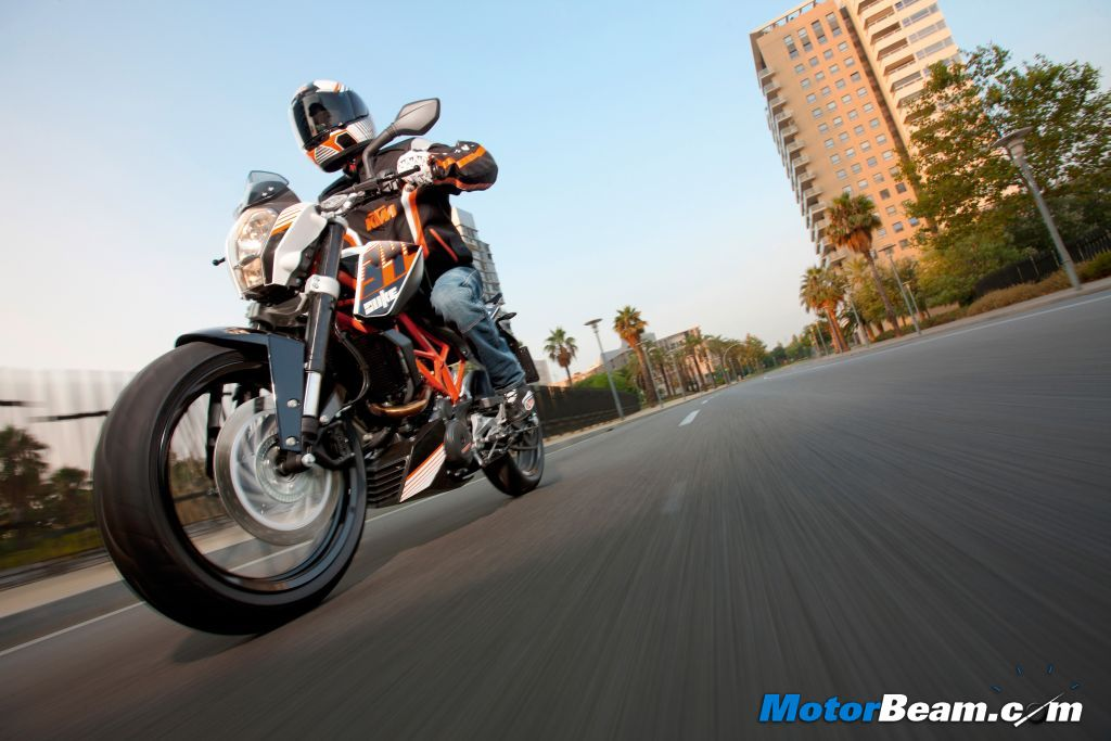 KTM 390 Duke Performance