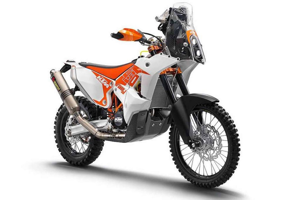 KTM 450 Rally Replica Front