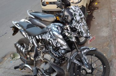 KTM Adventure 390 Spotted