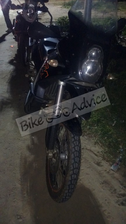 KTM Adventure India Spotted