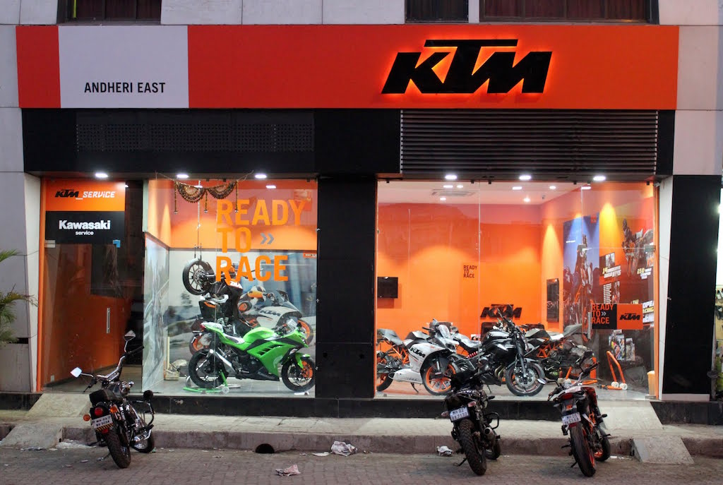 KTM Dealership Andheri East