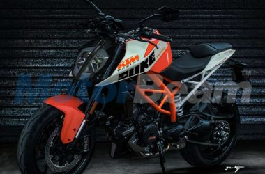 2017 KTM Duke 390 Rendered, Global Unveil Soon