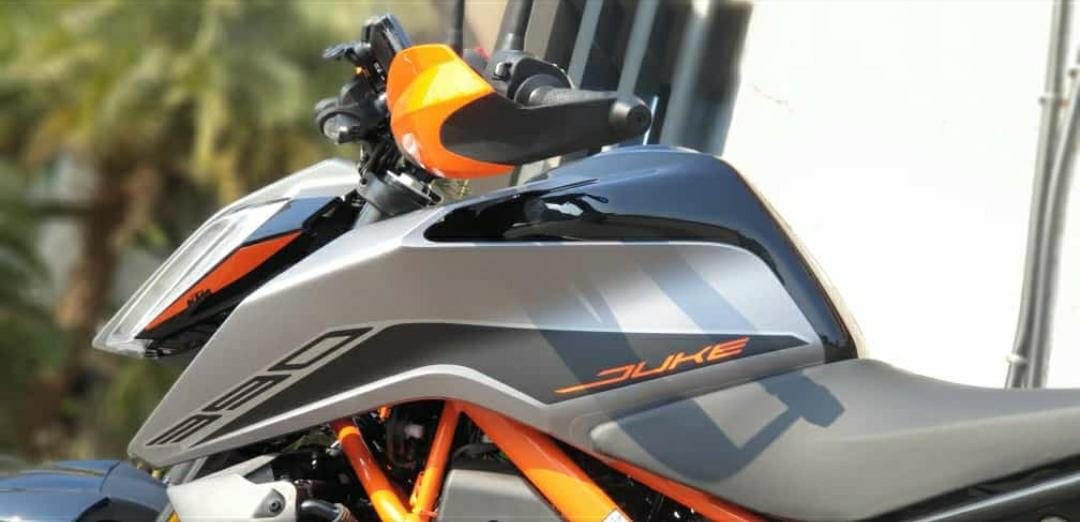 KTM Duke 390 BS6 Side
