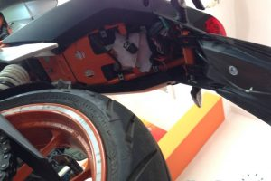 KTM Duke 390 Mudguard Replacement