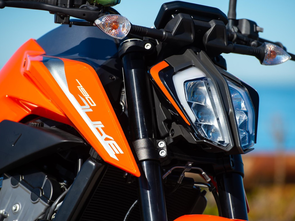 KTM Duke 790 Headlamp