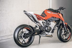 KTM Duke 790 Prototype Rear