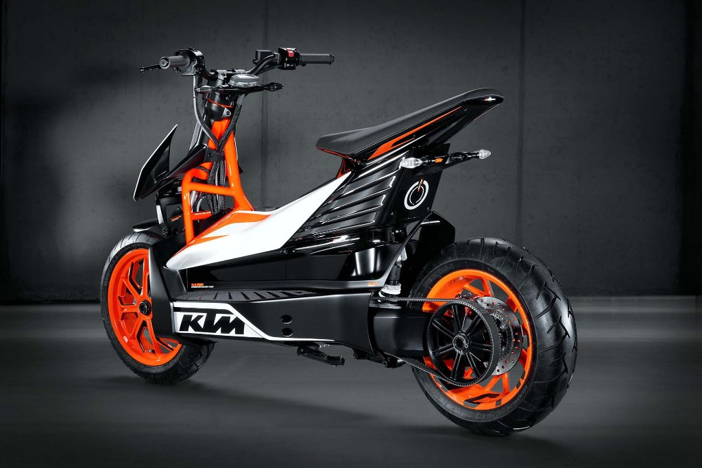 KTM E-Speed Electric Scooter Rear