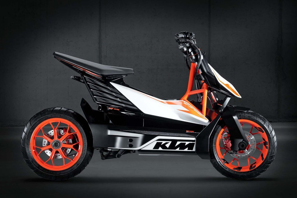 KTM E-Speed Electric Scooter Side