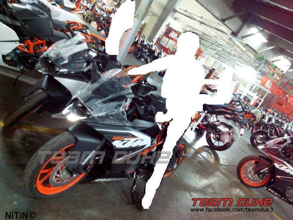 KTM RC 125 Production Ready Export