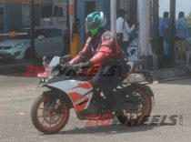 KTM RC 125 Spotted