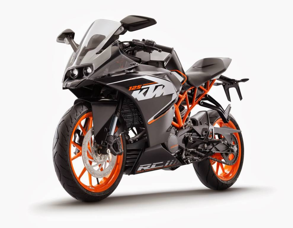 KTM RC 125 RC 390 Unveiled In Pictures