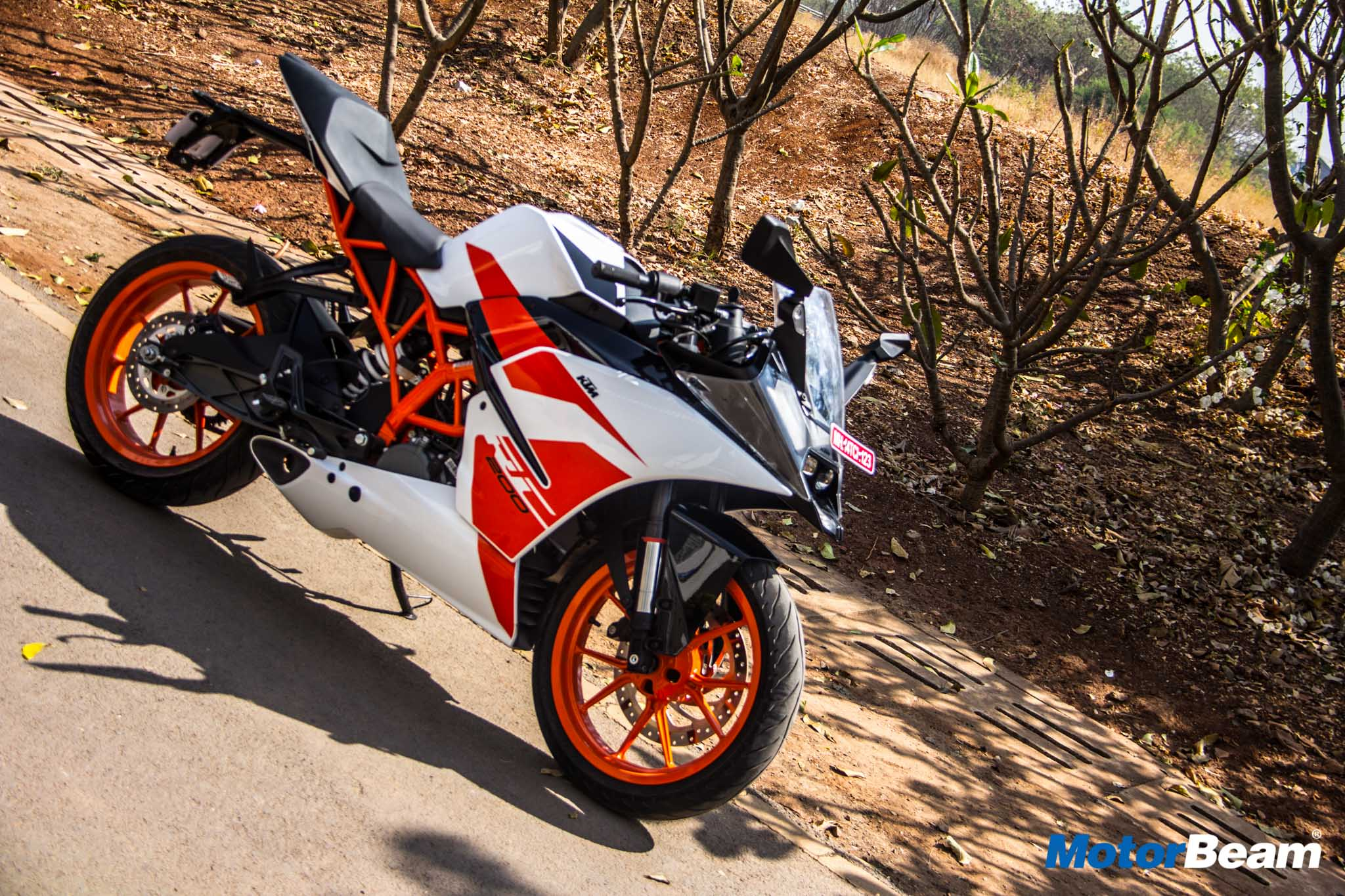 Ktm Rc 200 White Hd Wallpaper