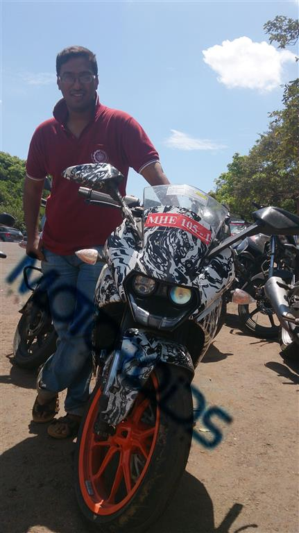 KTM RC 200 India Launch Pictures