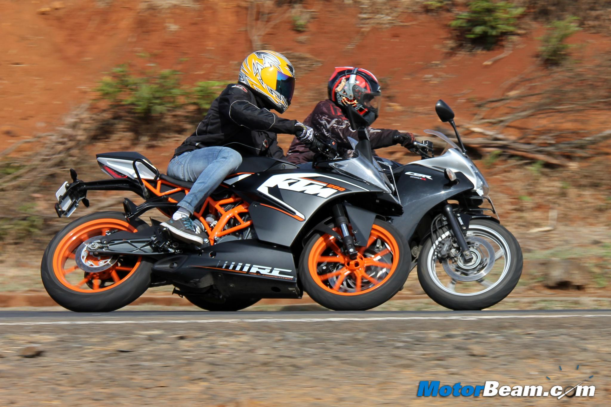 Bajaj pulsar rs200 vs ktm rc200 vs honda cbr250r comparison youtube - Bajaj Pulsar Rs200 Vs Ktm Rc200 Vs Honda Cbr250r Comparison Youtube 4