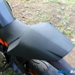 KTM RC 390 Pillion Seat