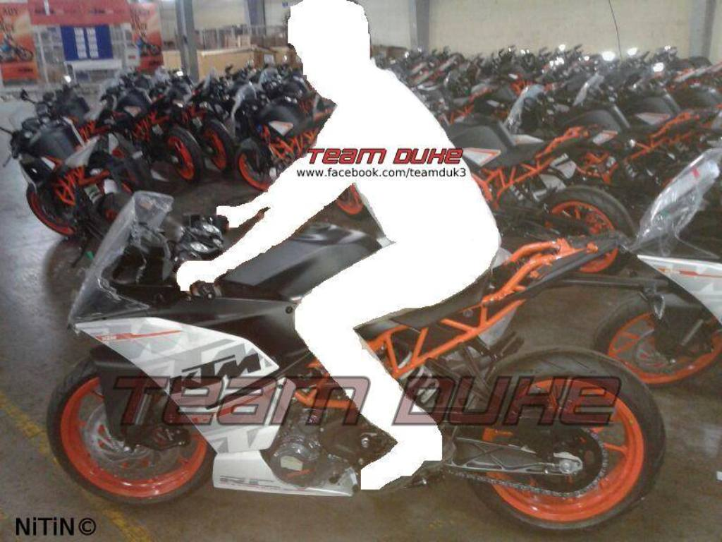 KTM RC 390 Production Ready