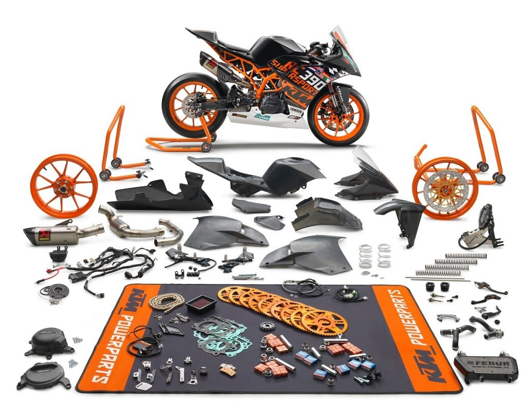 KTM RC 390 R SSP300 Kit Cycle Parts