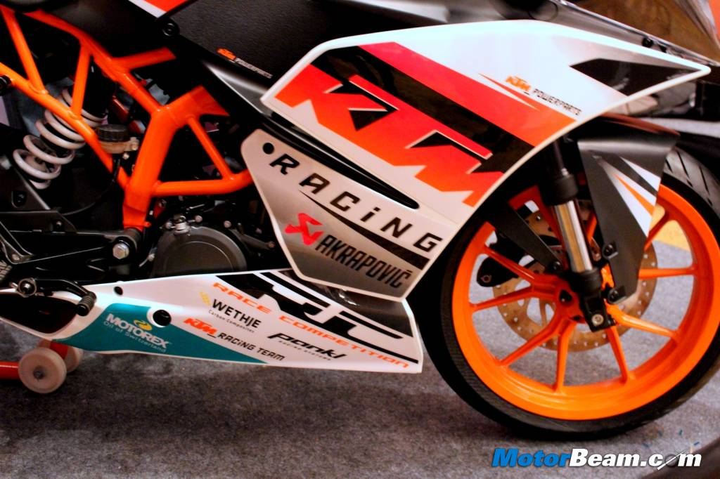 KTM RC 390 Style Package